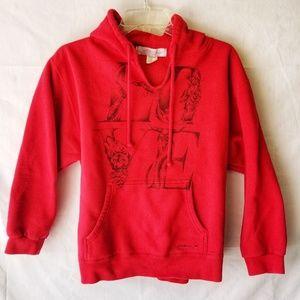 O'Neill Surf Girl LOVE Hoodie Sweatshirt